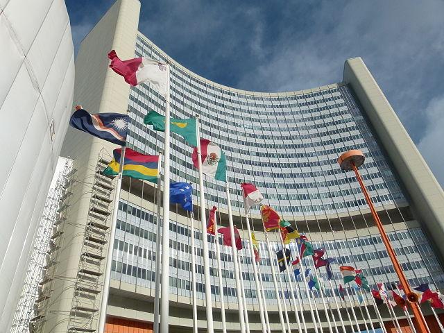UN Gebaude Wien - Verhandlungen zur UN-Behindertenrechtskonvention