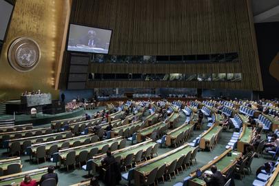 UN Vollversammlung - Internationale Zusammenarbeit