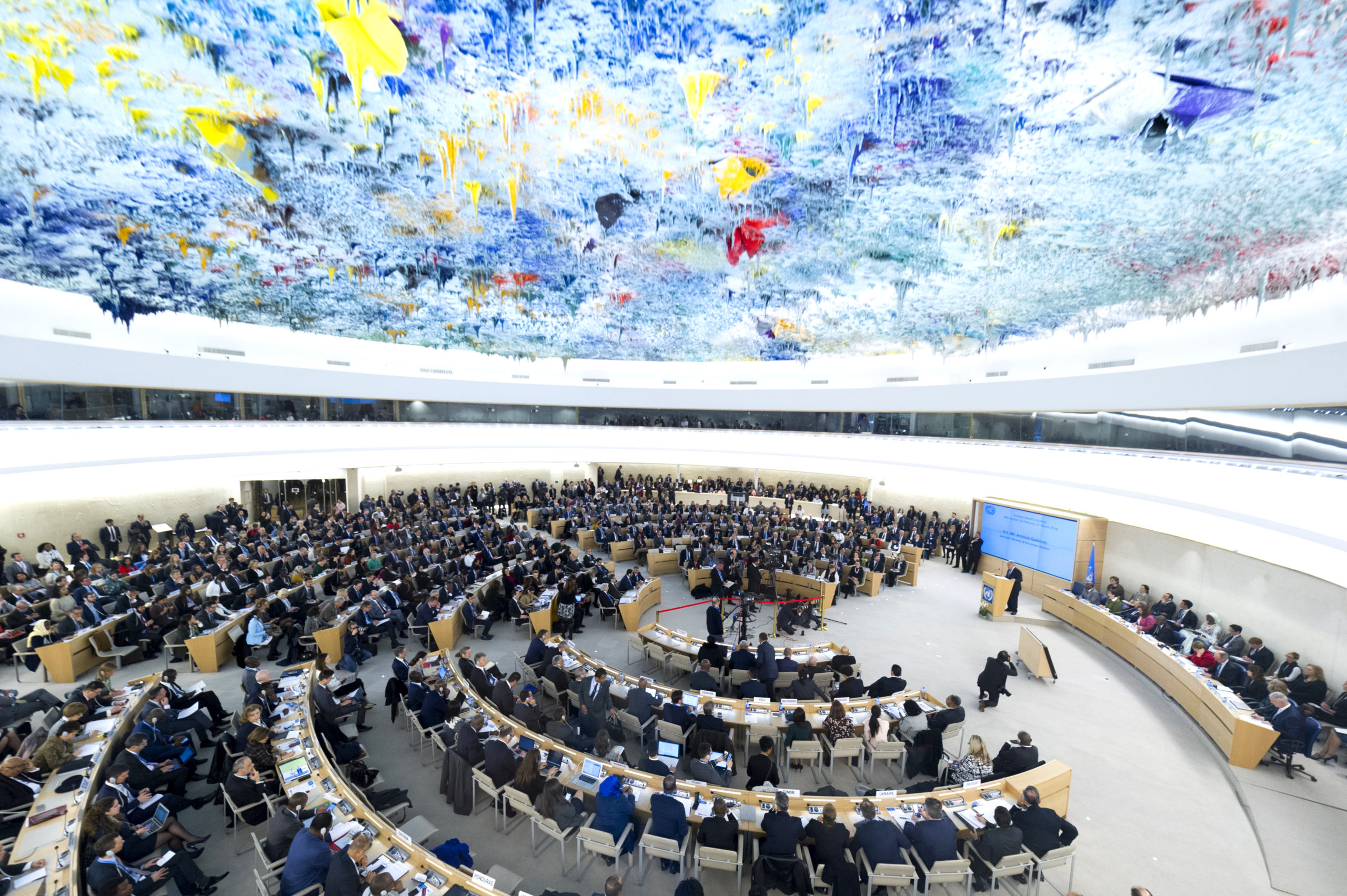 Sitzungssaal UN-Menschenrechtsrat