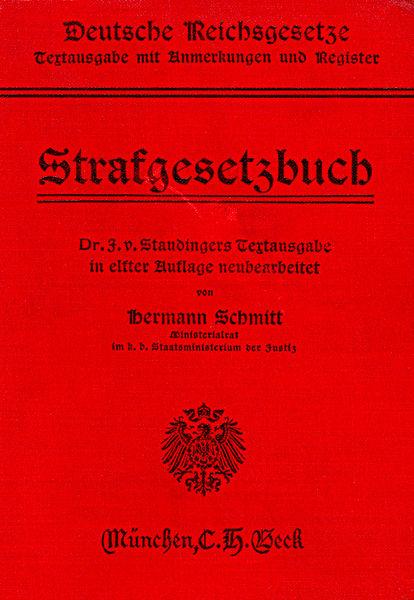 StGB 1914 - Recht auf Leben