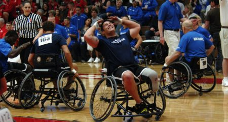Rollstuhl-Basketball